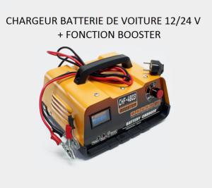 bigb chargeur de batterie voiture 12v 24 volts avec. Black Bedroom Furniture Sets. Home Design Ideas