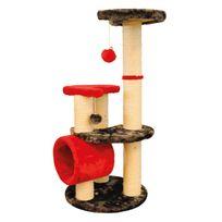 M-pets - Arbre à chat Montblanc - rouge/gris