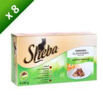 Sheba - Barquettes Les terrines primeur pour chats 4 x 85g 8