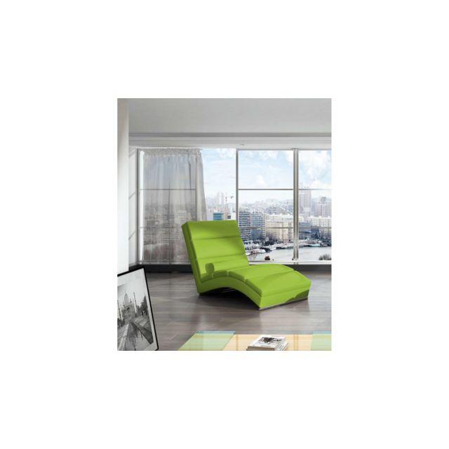 relax pas Vert Chicago Fauteuil 75x175x85 cher Justyou rCoWBexd