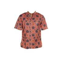 Iron And Resin - Chemise Buffalo Pullover - Vintage Red