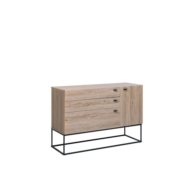 BELIANI Commode marron 4 compartiments ARIETTA - marron