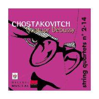 Arion - Chostakovitch : Quatuor à cordes n 2, Op. 68 - Quatuor à cordes n14, Op. 142