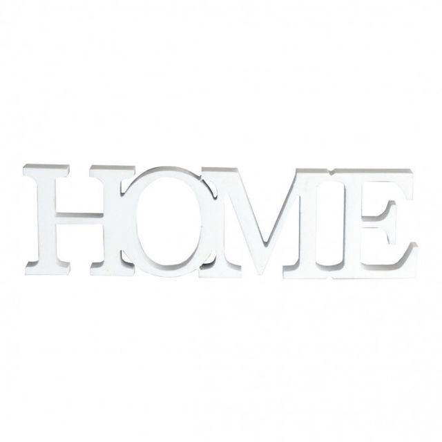 Mobili Rebecca Plaque Ecrit Decoration Home Mur Table Bois Blanc Design Maison Bureau