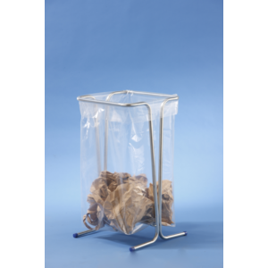 mottez support sac poubelle fixe 100 110 litres vert. Black Bedroom Furniture Sets. Home Design Ideas