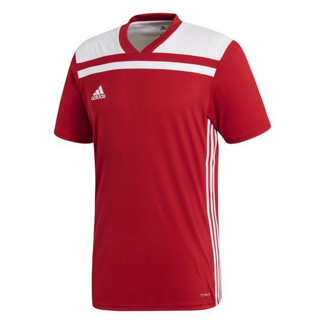 maillot adidas regista blanc et rouge