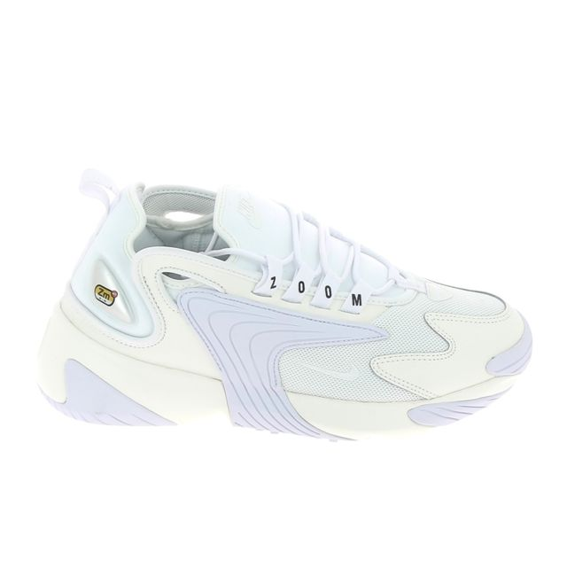 Nike - Zoom 2K Blanc - pas cher Achat / Vente Baskets femme ...
