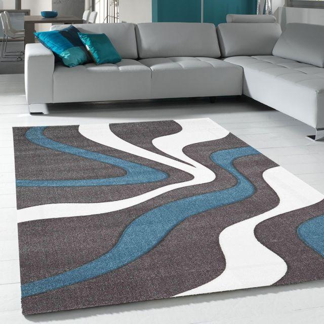 un amour de tapis tapis de salon moderne design diamond vagues pas cher achat vente tapis. Black Bedroom Furniture Sets. Home Design Ideas