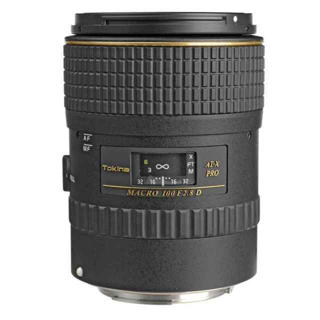 Tokina Objectif At-x Pro D 100mm Macro F2.8 Nikon