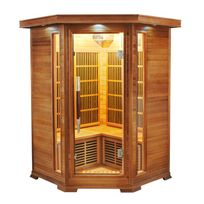FRANCE SAUNA - Sauna infrarouge LUXE 2/3 places