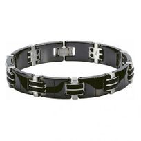 Rochet - Bracelet Homme modèle Magnum Noir Brillant - B031881A