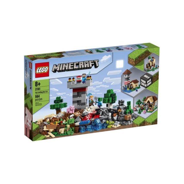 Lego Minecraft™ 21161 La boîte de construction 3.0