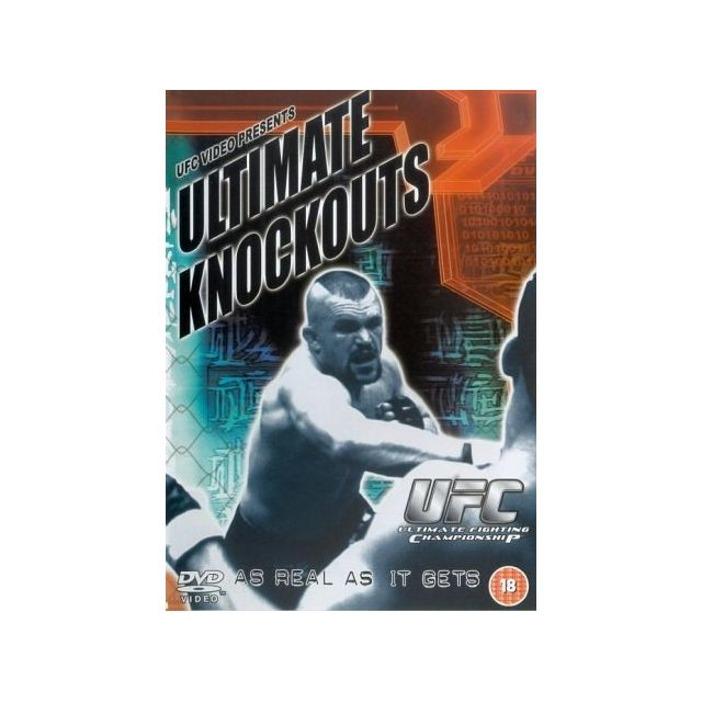 Fight Dvd - Ultimate Fighting Championship - Ultimate Knockouts IMPORT Anglais, IMPORT Dvd - Edition simple