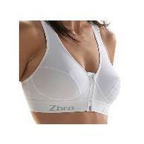 Zsport - Brassiere Extreme Blanc Sous-Vêtement Technique Femme e6d8f05c0a3