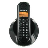 TELEFUNKEN - Téléphone fixe sans fil sans répondeurTB 201 Peps solo noir