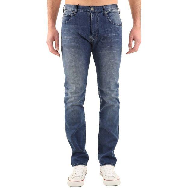 Armani C6J84 Taille Jeans Ea7 Fit Couleur Armani Bleu Jean Slim 1vfHr1I