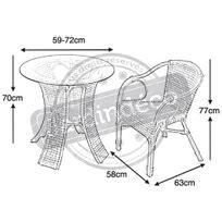 chaise haute minnie achat chaise haute minnie pas cher rue du commerce. Black Bedroom Furniture Sets. Home Design Ideas