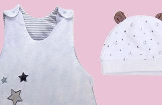 Les vêtements bébé et maman