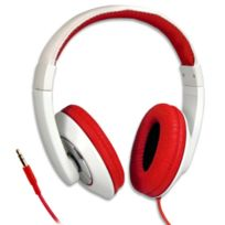 Cabling - casque audio pour Iphone/Ipod/mp3/mp4 rouge