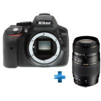 NIKON - Pack Expert D5300 - Reflex Numérique Boitier nu + Zoom Téléobjectif AF70-300MM F/4-5.6 Di LD Macro 1:2 Monture - Version motorisée