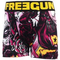 Freegun - Sous vêtement boxer Mue nr/jne boxer jr Noir 28157
