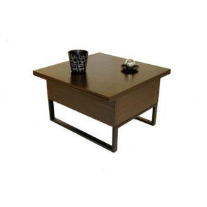 giovanni table basse relevable new viper weng wenge 75cm x 46cm x 75cm pas cher achat. Black Bedroom Furniture Sets. Home Design Ideas