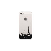 PEACH - Coque Transparente City pour iPhone 5/5S/SE