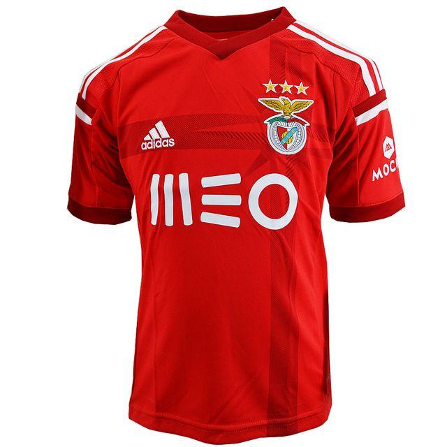 Adidas Performance Maillot Benfica Lisbonne Slb H Jsy Y Jr