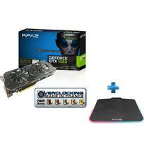 KFA2 - GeForce GTX 1060 EX OC White 6 Go + Tapis de Souris Gaming Sniper RGB