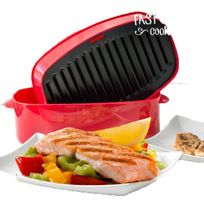 Exclusif Shopping Vip - Plancha-Grill pour Microondes Fast & Easy Cooker