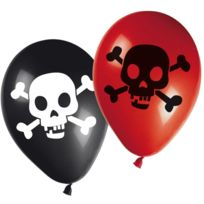 Procos - Ballons Carte Trésor Pirate x8