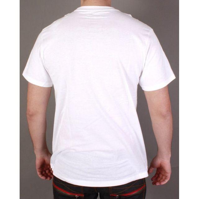 Ecko - Tshirt Rhino Flavors blanc
