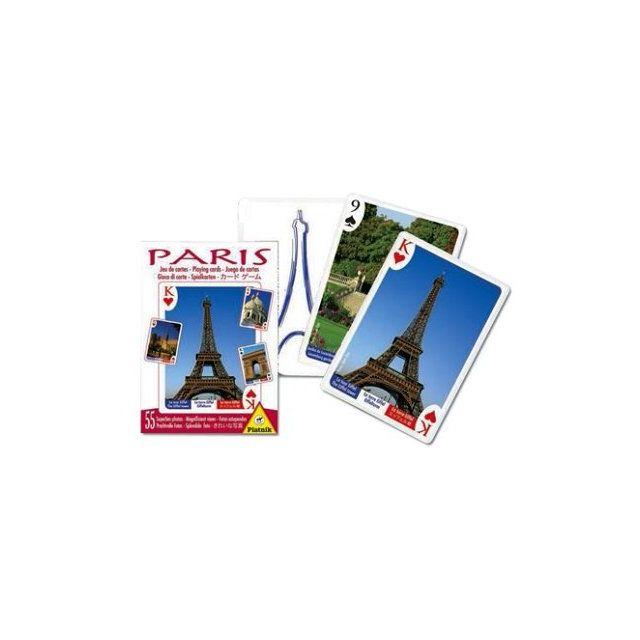piatnik jeu de cartes souvenir de paris pas cher achat vente jeux de cartes rueducommerce. Black Bedroom Furniture Sets. Home Design Ideas