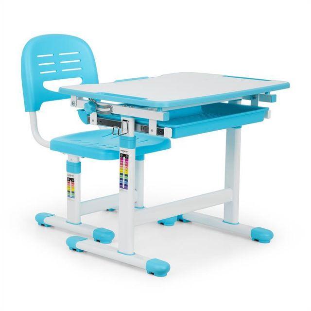 Oneconcept Tommi Set Bureau Pour Enfant Table Chaise Hauteur