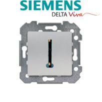 Siemens - Prise Téléphone Silver Delta Viva