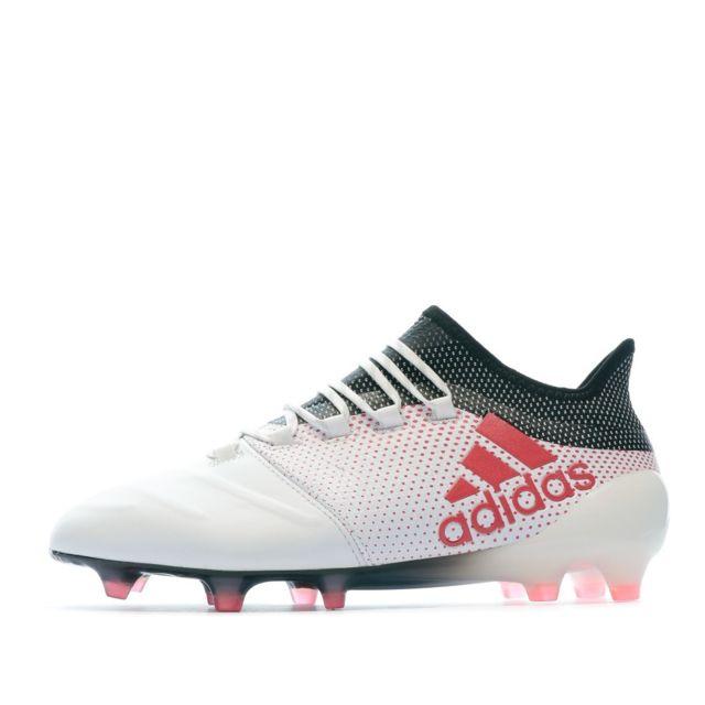 X 17.1 Fg Leather Chaussures de foot blanc homme Multicouleur 45 13