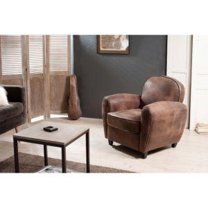 fauteuil club en tissu microfibre austin pas cher achat. Black Bedroom Furniture Sets. Home Design Ideas