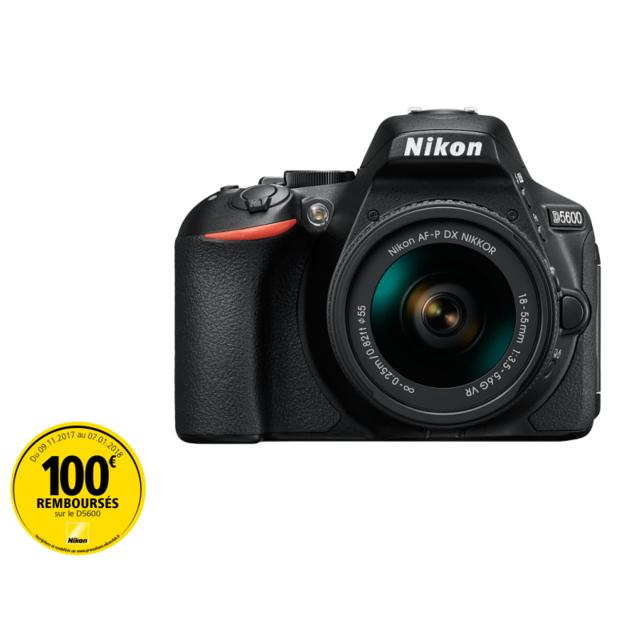 NIKON appareil photo reflex - d5600 + objectif 18-55