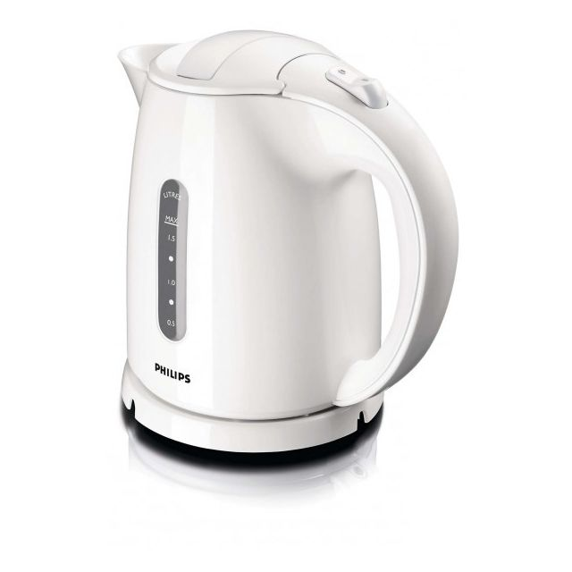 Philips Bouilloire 1,5l - 2400W Daily Collection Blanche Hd4646/00