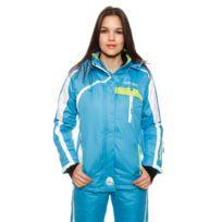 Geographical Norway - Blouson de Ski Wanda Turquoise