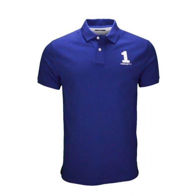 ed11724ec13 Hackett - Polo New classic bleu pour homme - pas cher Achat   Vente ...