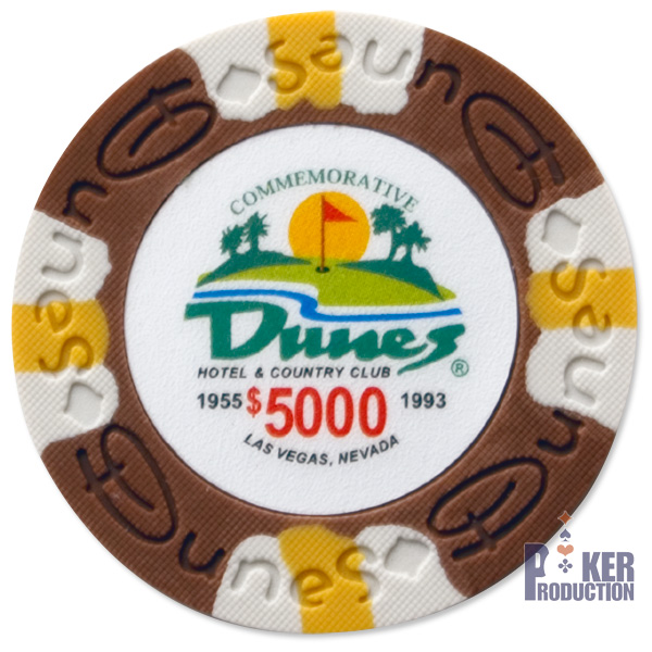 Poker Production - Dunes Commemorative : 5 000