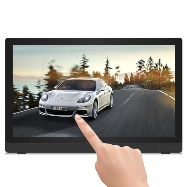 Yonis Cadre Photo Numérique Android 24' Lecteur Multimedia Quad Core Tactile Tablette Pc Cadre photo numérique avec un écran tactile 24 pouces Tft Led affichage cristaux liquide, système d'exploitation Android 4.4.Un cadre photo Full Hd vous permettant d'