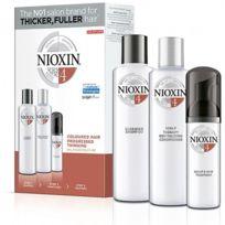 Nioxin - Kit soin n°4 cheveux Colorés visiblement clairsemés et fins