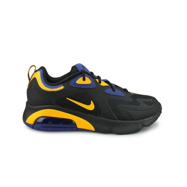 Nike Air Max 200 Noir pas cher Achat Vente Baskets
