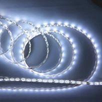 EMATRONIC - Ruban LED 5 mètres 60LEDs/m 3528 - CWF2-35 BLANC