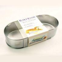 Patisse - Cadre à rie inox réglable ovale 27 à 40