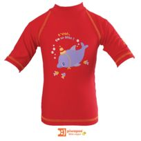 PIWAPEE - Tee-shirt anti-uv dauphin 24-36 mois