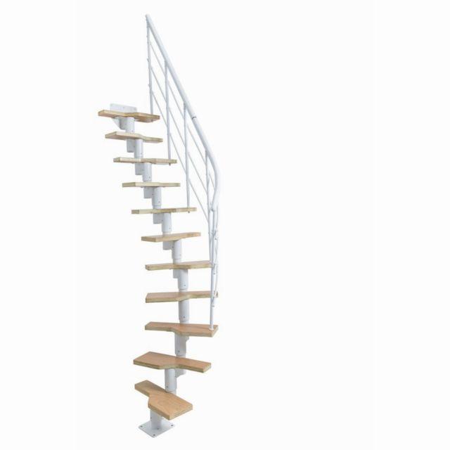 Escalier Lugano Bois Acier 11 Marches Pas Cher Achat