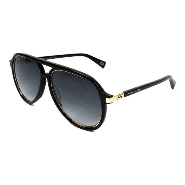 Marc Jacobs - Lunettes de solei Marc-174-S 2M2 9O Homme Noir - pas cher  Achat   Vente Lunettes Tendance - RueDuCommerce 62428305ec6c